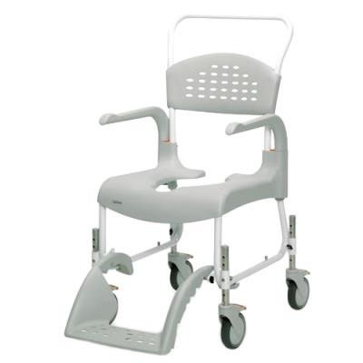 Height Adjustable Shower Commode Chair 2