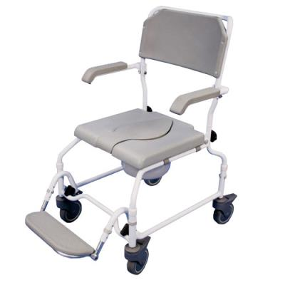 Height Adjustable Shower Commode Chair 1 (with bowl)