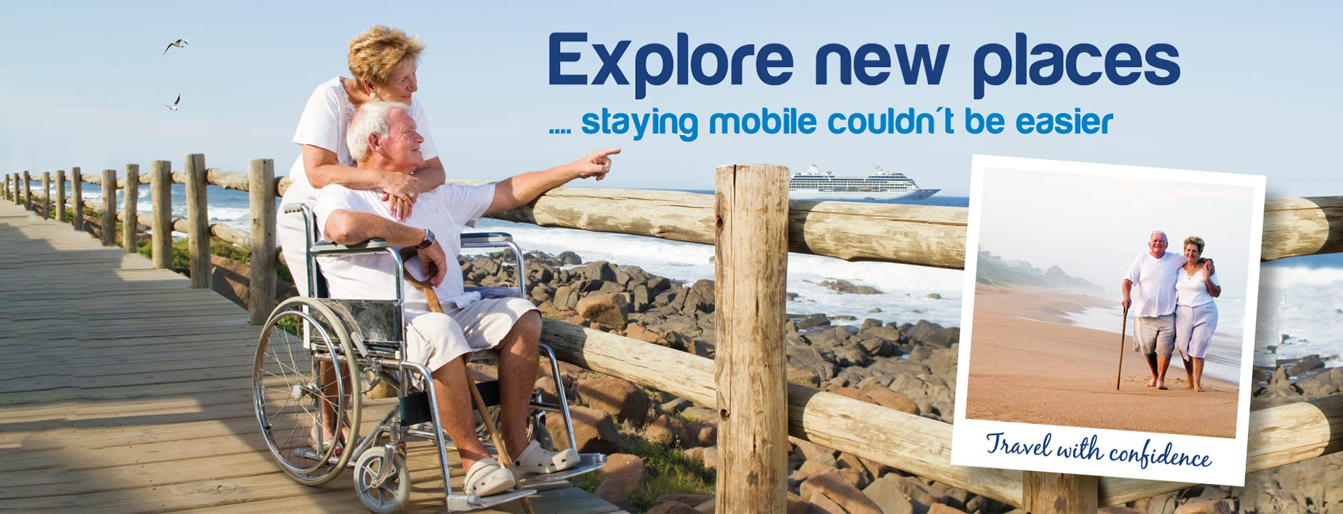 Explore new palces - staying mobile couldn't be easier