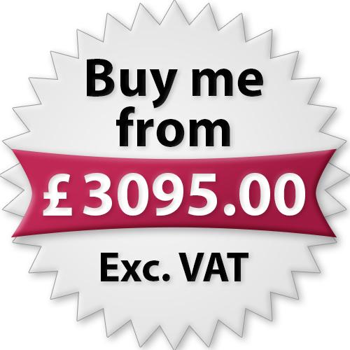 Buy me from £3095.00 Exc. VAT
