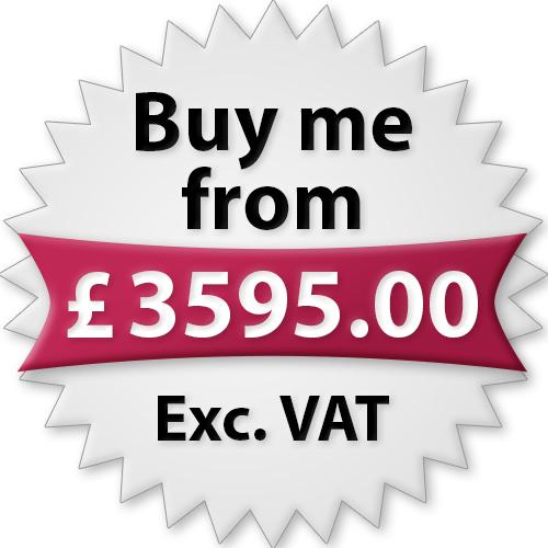 Buy me from £3595.00 Exc. VAT