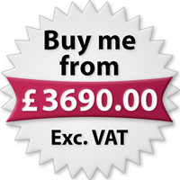 Buy me from £3690.00 Exc. VAT