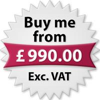 Buy me from £990.00 Exc. VAT